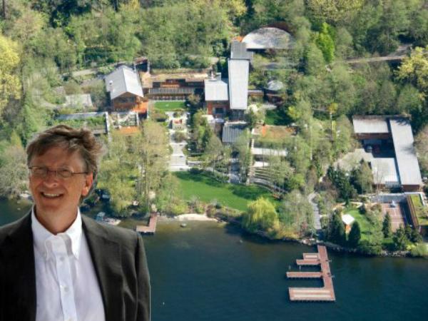 ១៩យ៉ាង ដែលអ្នក មិនធ្លាប់បានដឹង អំពីផ្ទះរបស់លោក Bill Gates